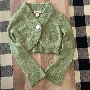 Sweaters - Crop cardigan sweater
